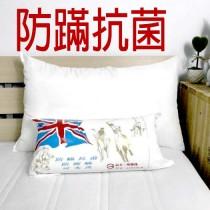 (免運枕頭) 台灣製造【防螨抗菌】可水洗壓縮枕頭(1入)